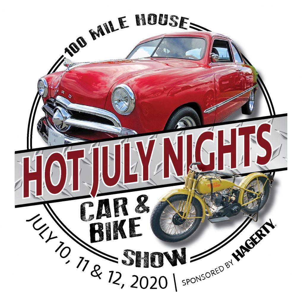 2020 Hot July Nights Logo