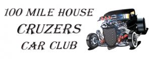 100 Mile House Cruzer Car Club Logo