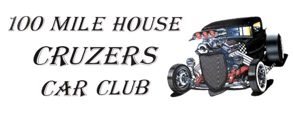 100 Mile House Cruzer Car Club Logo